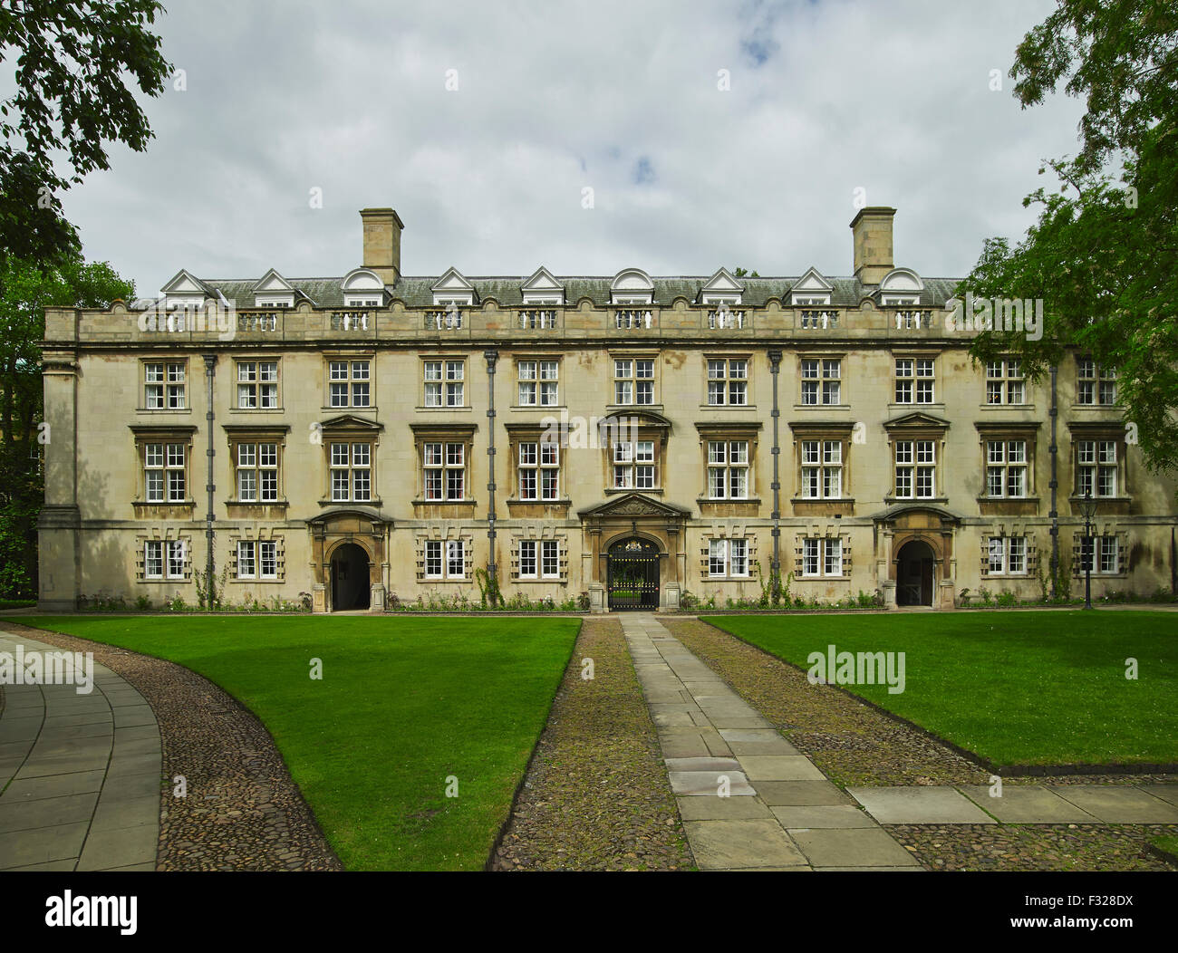 Cambridge, Christ's College, Fellows' Building - Stock Image