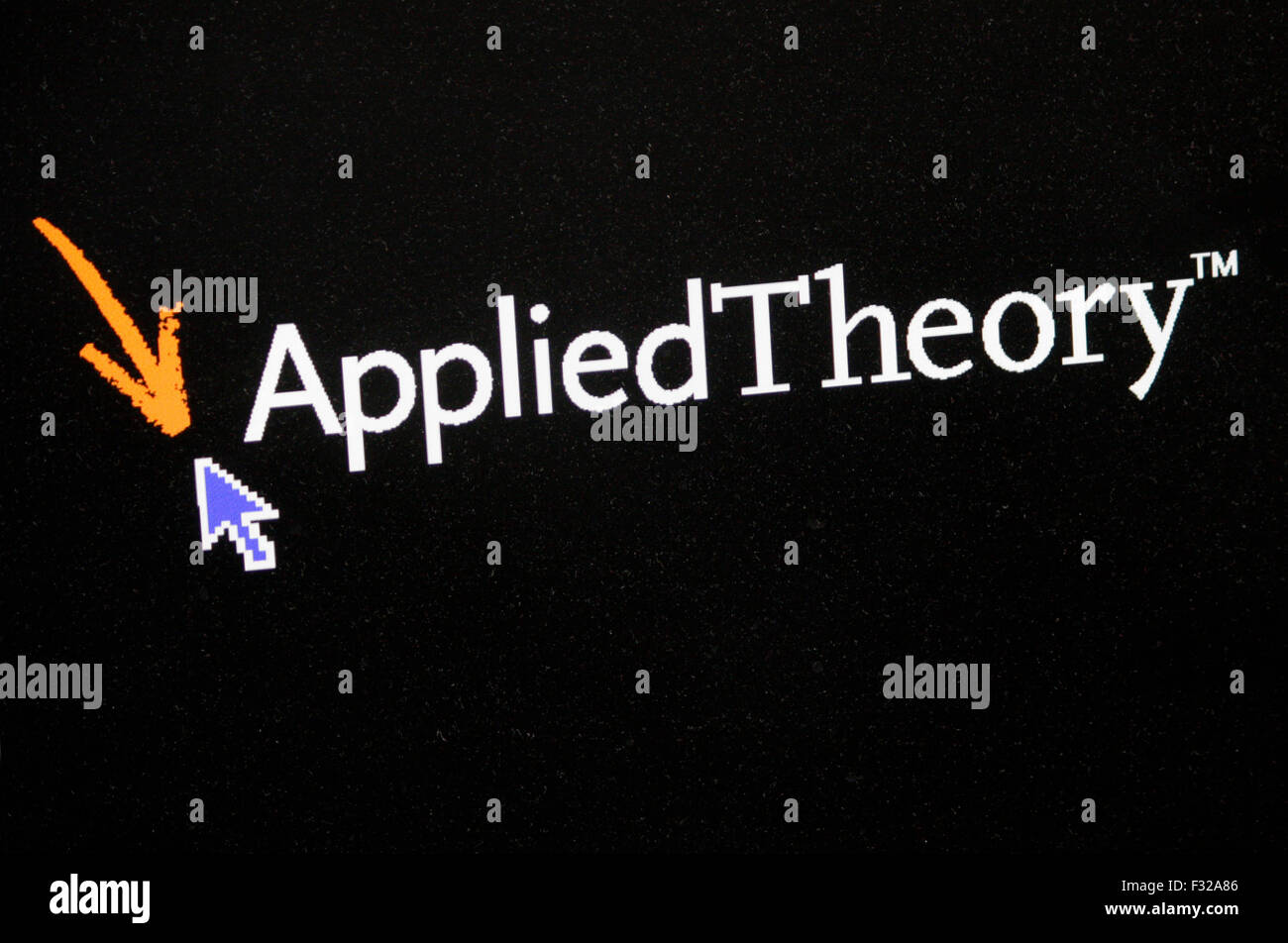 Markenname: 'Applied Theory', Berlin. - Stock Image