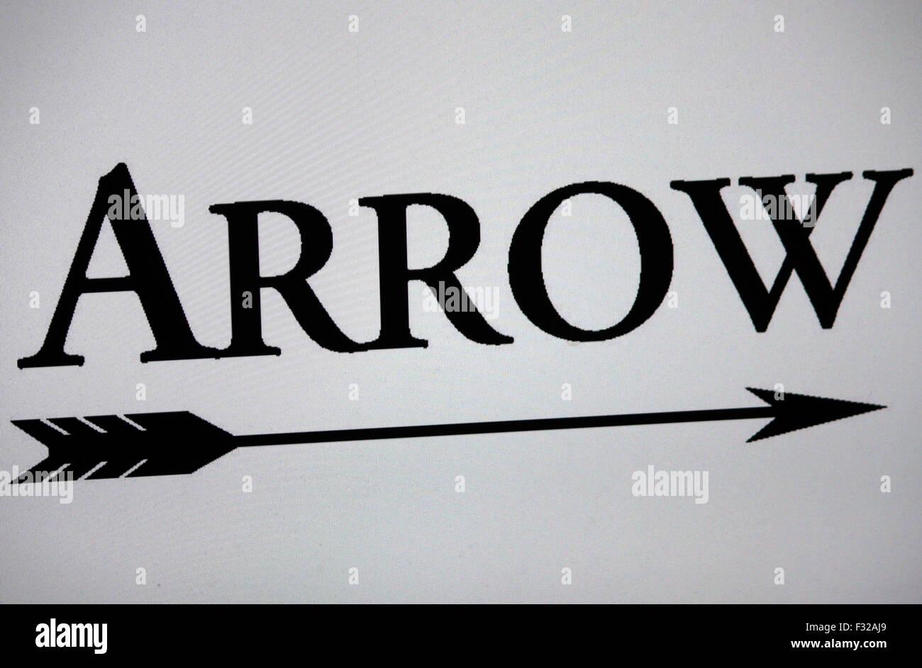 Markenname: 'Arrow', Berlin. - Stock Image