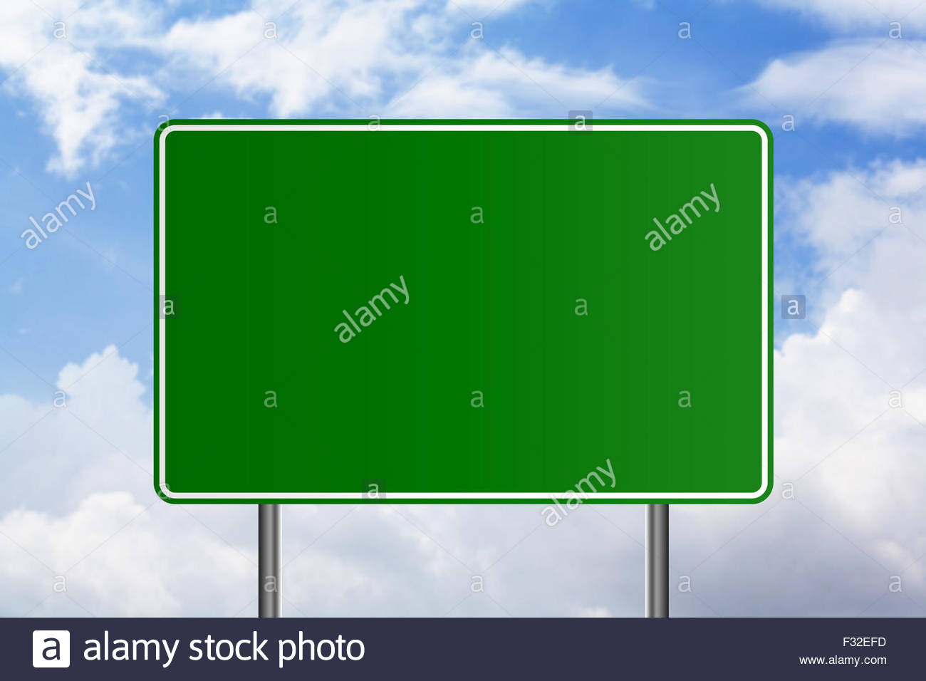 A Blank Signboard For Design Template Stock Photo 87951121