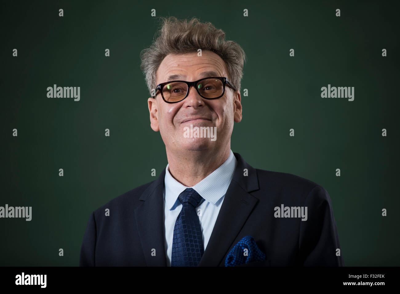 American actor, stand-up comedian and television host Greg Proops. - Stock Image
