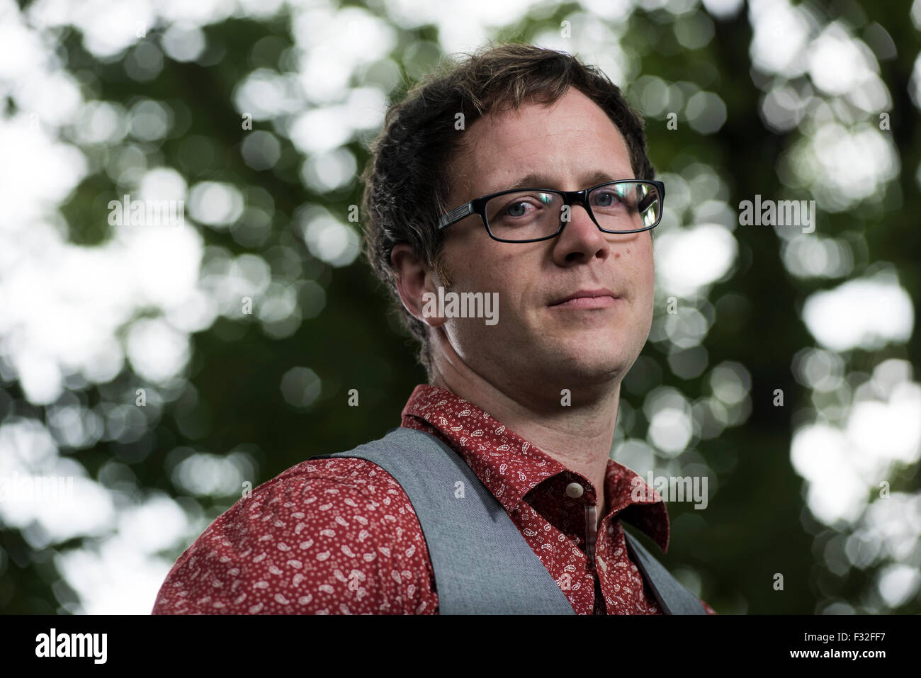 Writer, teacher and occasional filmmaker Simon Sylvester. - Stock Image