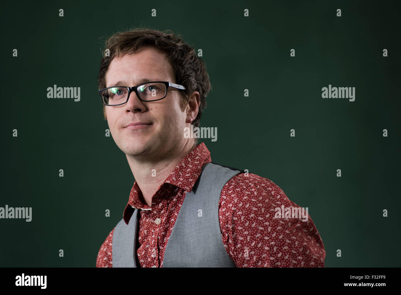 Writer, teacher and occasional filmmaker Simon Sylvester. Stock Photo