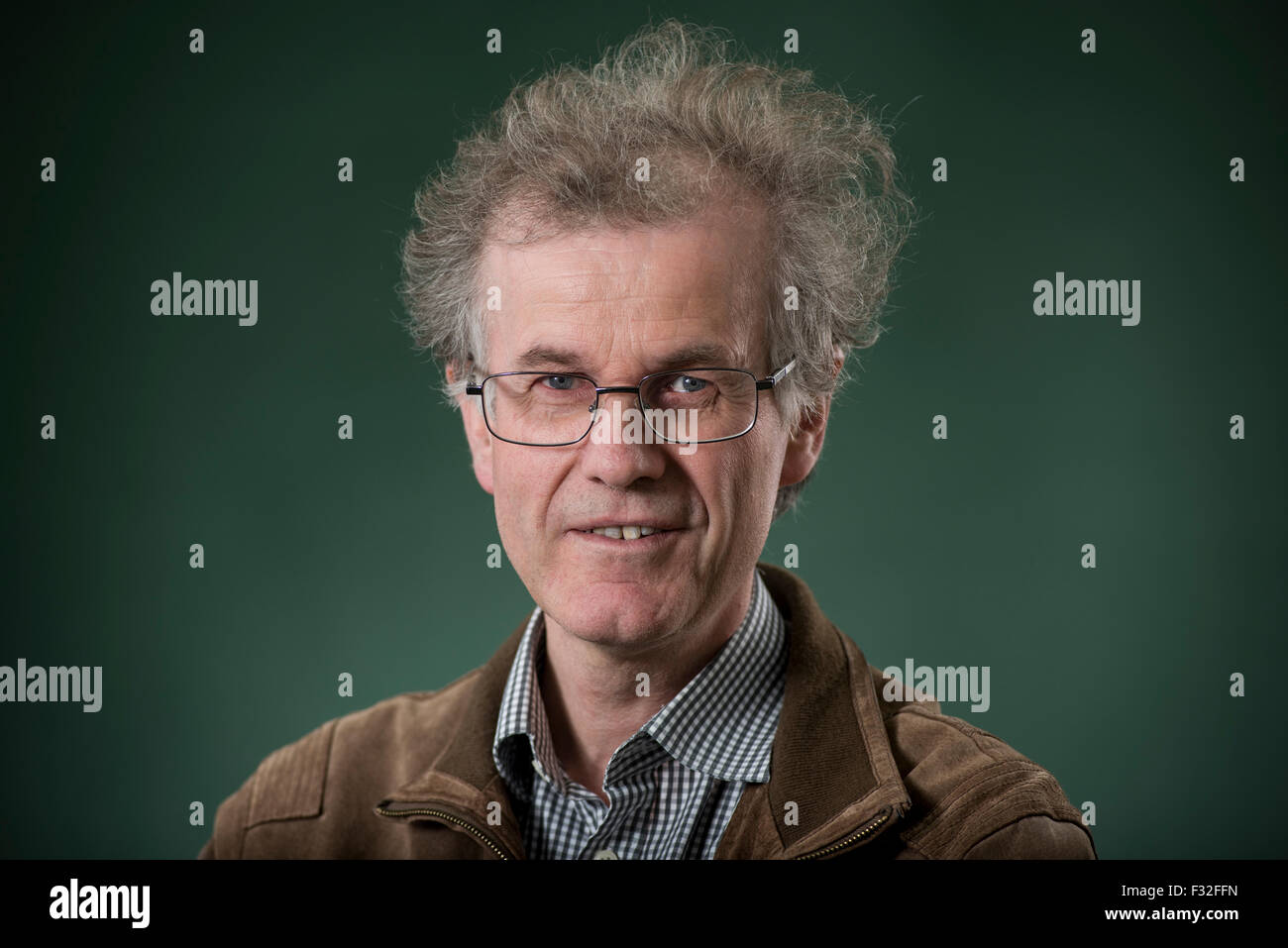Scottish poet, scholar and critic Robert Crawford FRSE FBA. - Stock Image