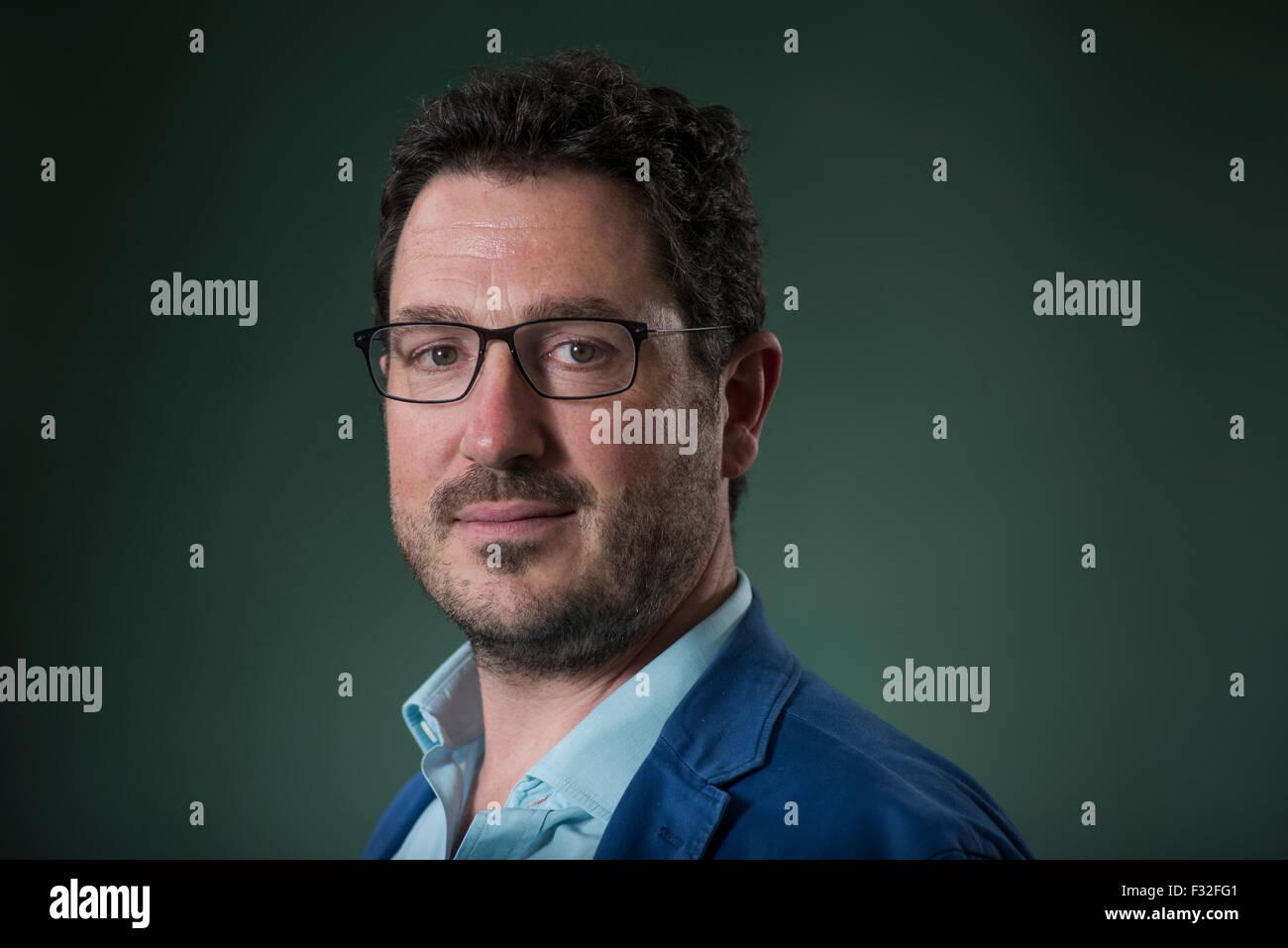 Writer and journalist Andrew Duff. - Stock Image
