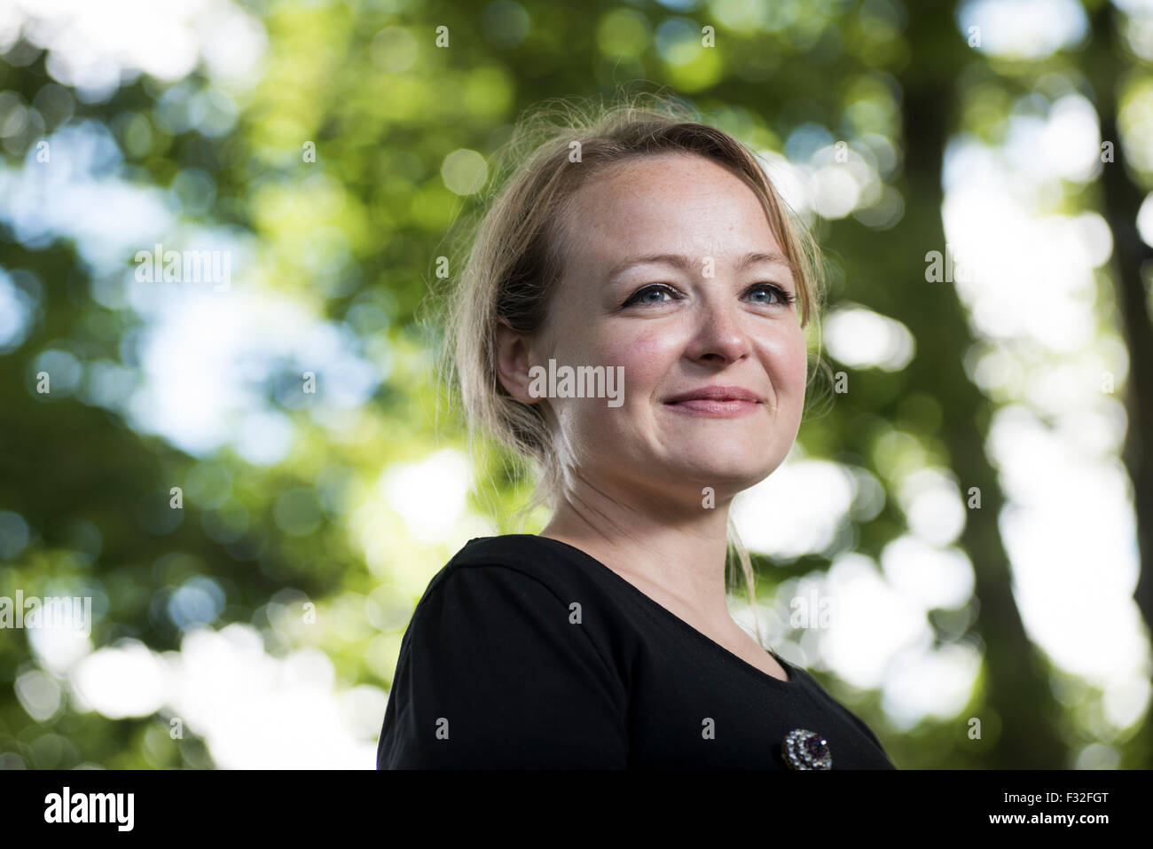 Scottish author Lucy Ribchester. - Stock Image