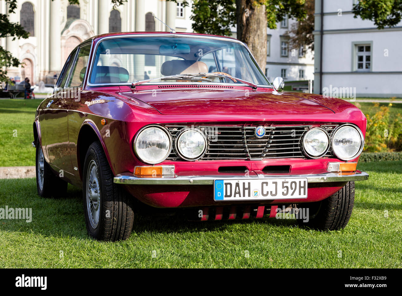 Front Detail Of Alfa Romeo Classic Car Stock Photos Wiring Diagram Giulietta Vintage Image