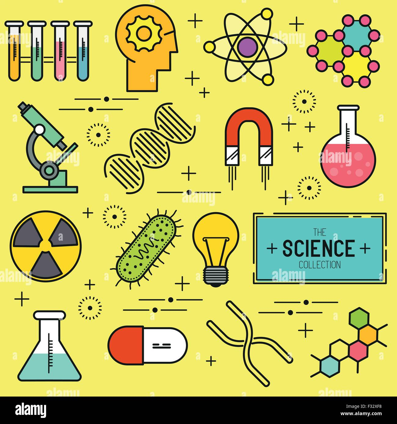 science vector icon set a collection of science themed line icons stock vector image art alamy https www alamy com stock photo science vector icon set a collection of science themed line icons 87960524 html