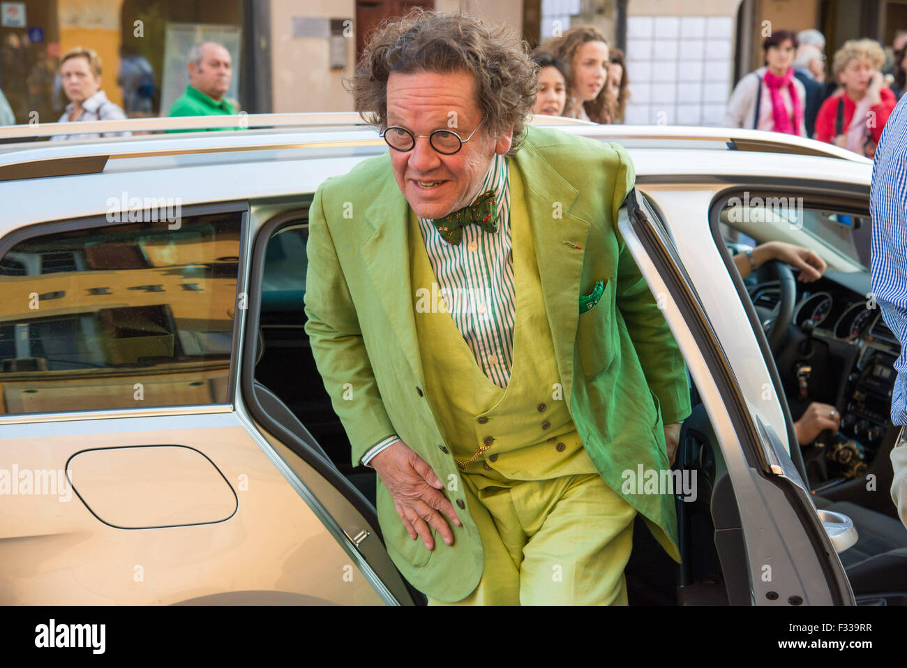 The famous art critic Philippe Daverio at  Art-On Cascina Festival 2015 (Pisa Italy) - Stock Image
