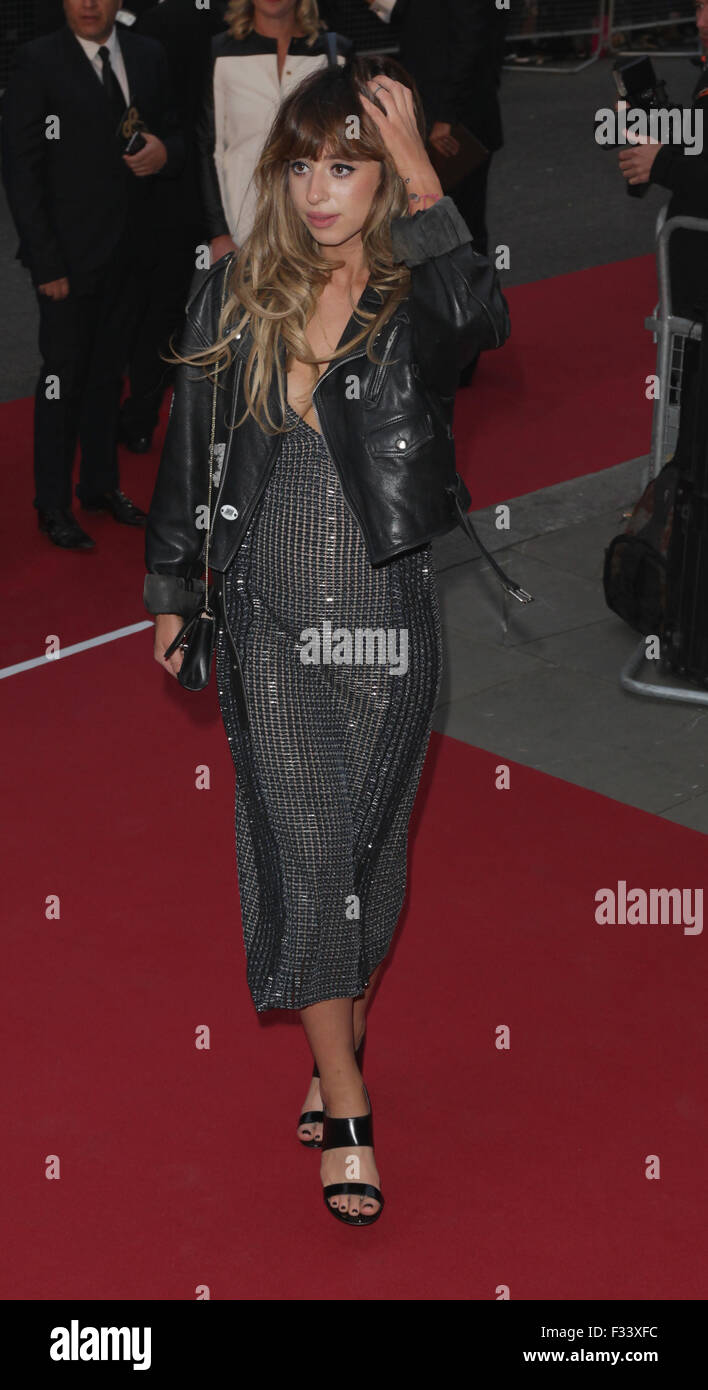 London, UK, 8th Sep 2015: Foxes attends the GQ Men of the Year Awards in London - Stock Image