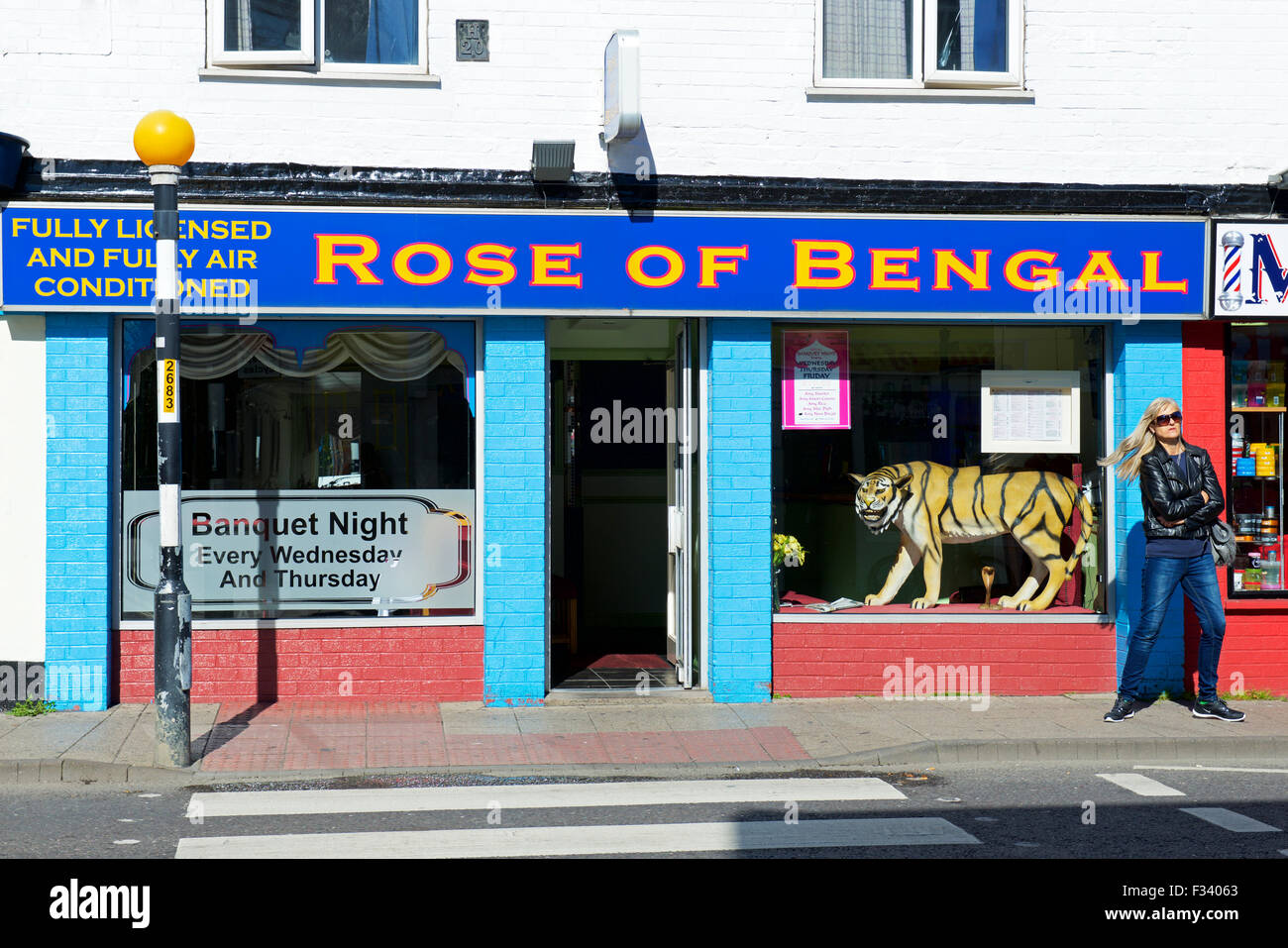 Indian Restaurant The Rose Of Bengal In Boston