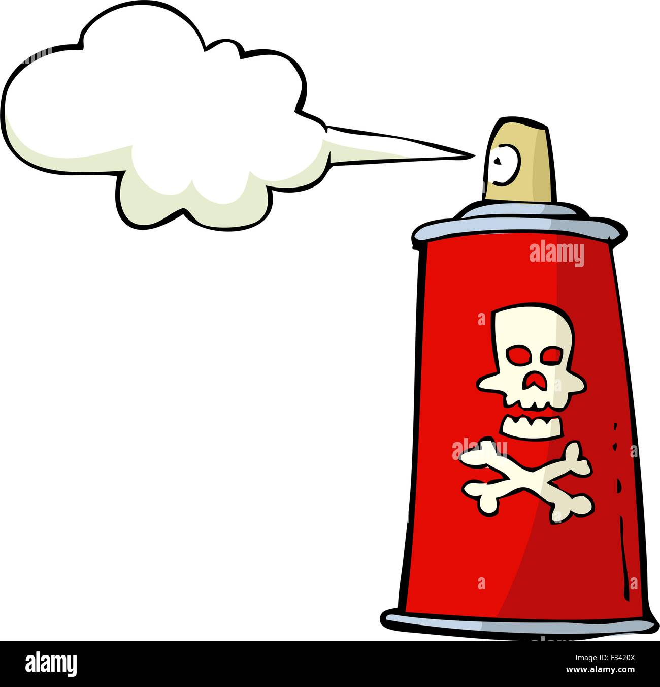 Toxic Symbol Spray Stock Photos Toxic Symbol Spray Stock Images