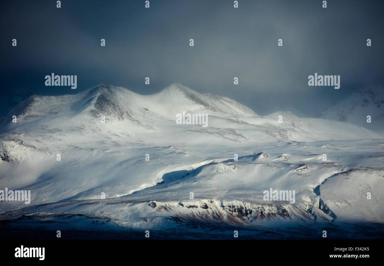 Rjupnaborgir, Snaefellsness Peninsula, Iceland - Stock Image