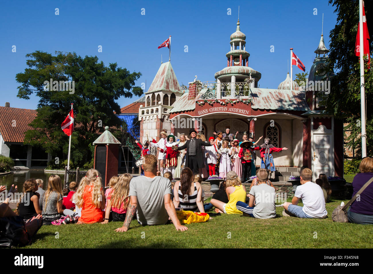 Theater at the Hans Christian Andersen house - Stock Image