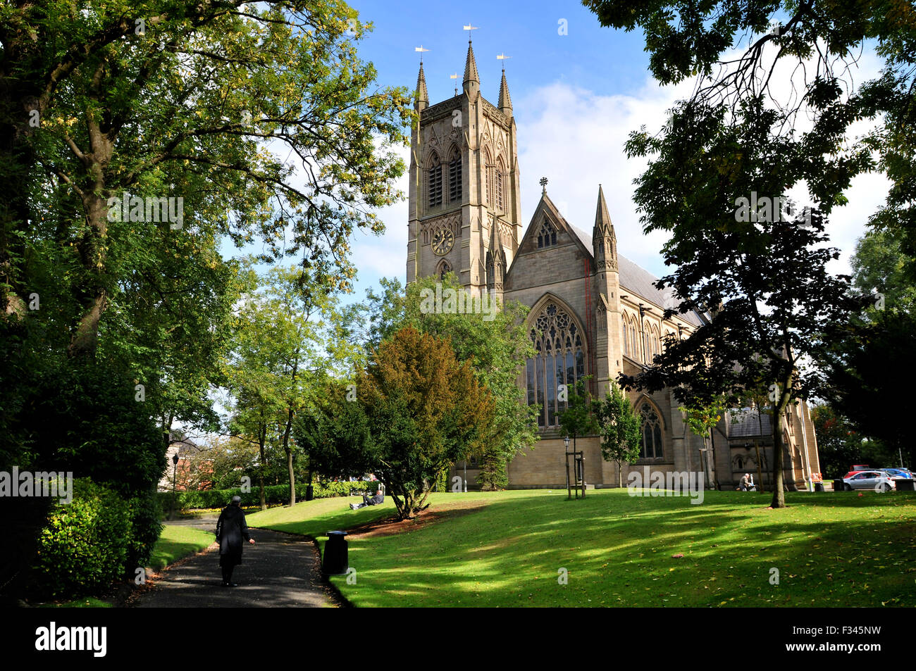 Bolton Parish Church, Bolton, England. Picture by Paul Heyes, Tuesday September 29, 2015 - Stock Image