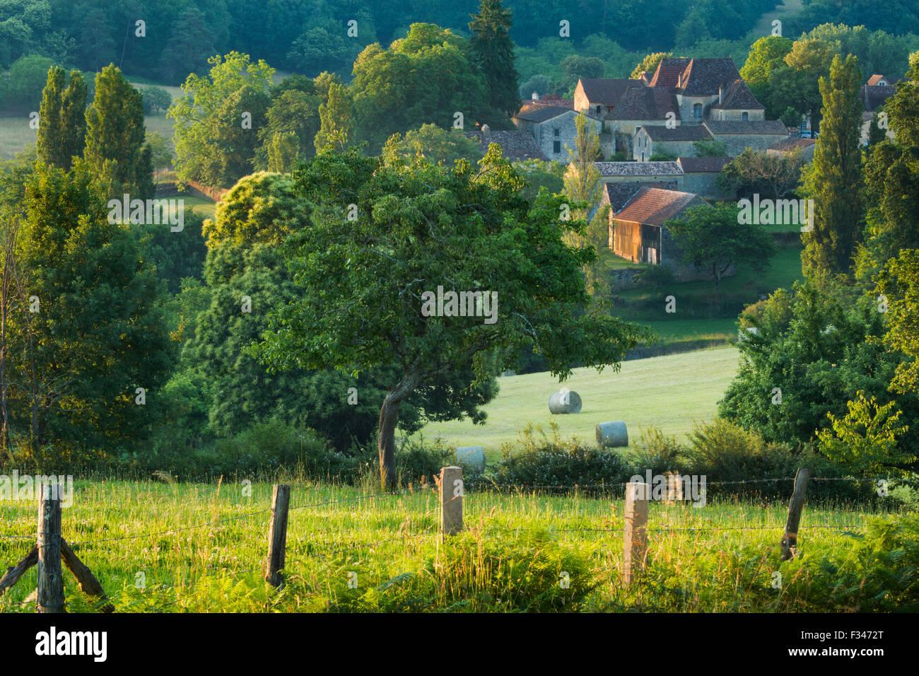 Molières, Pays de Bergerac, Périgord, Dordogne, Aquitaine, France - Stock Image