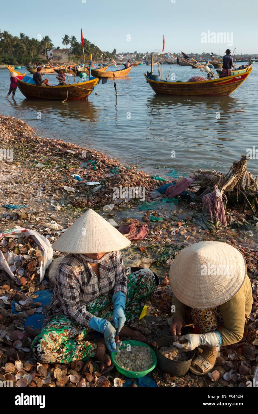 Mũi Né fishing village, Bình Thuận Province, Vietnam Stock Photo