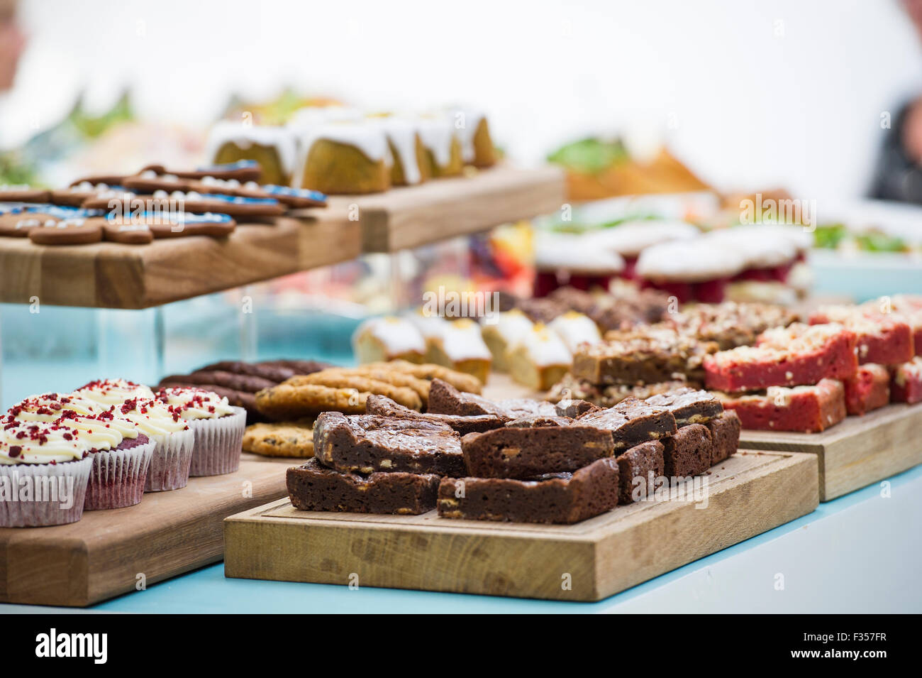 Beautiful buffet food Stock Photo