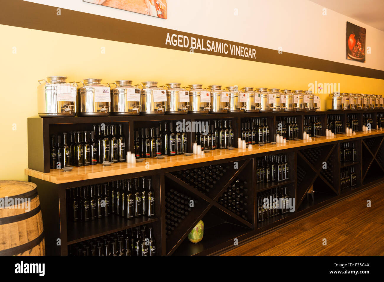 Tasting room for aged balsamic vinegar and olive oil a popular attraction Bardstown KY USA & Tasting room for aged balsamic vinegar and olive oil a popular ...