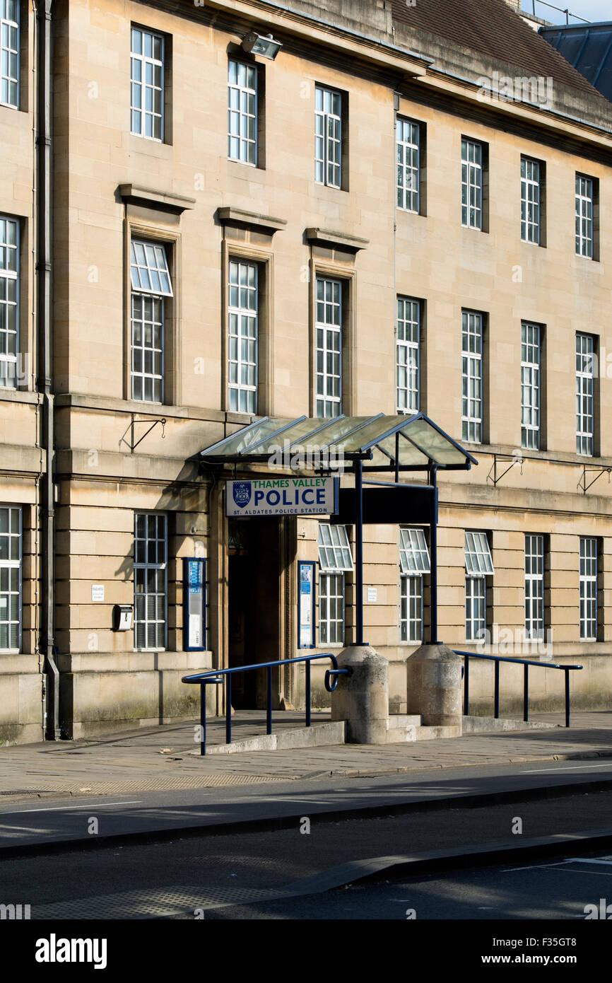 St. Aldates Police Station, Oxford, UK - Stock Image
