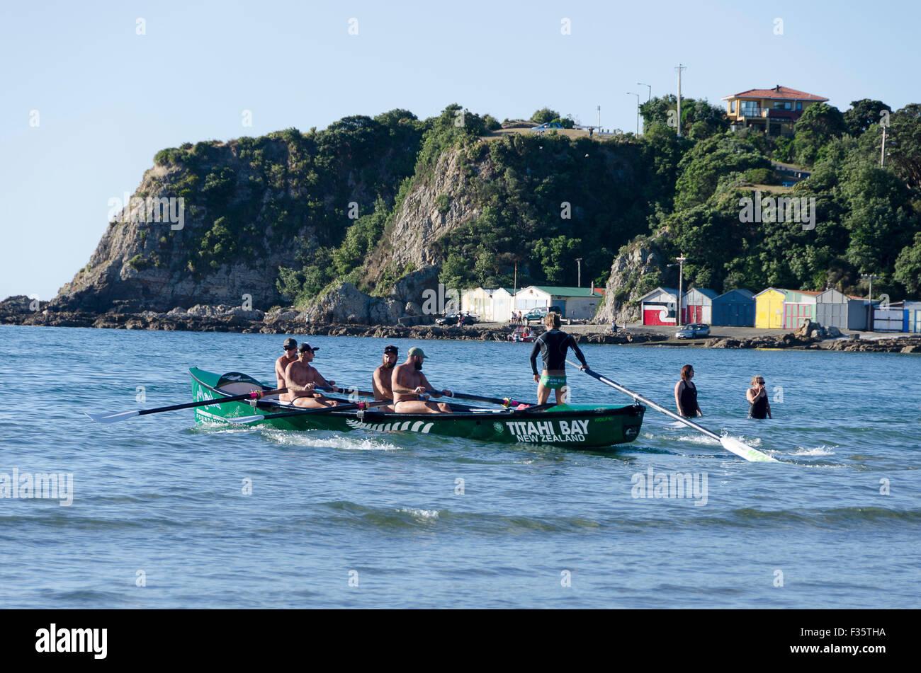 Surf Life Saving Team Titahi Bay Porirua Wellington North Island