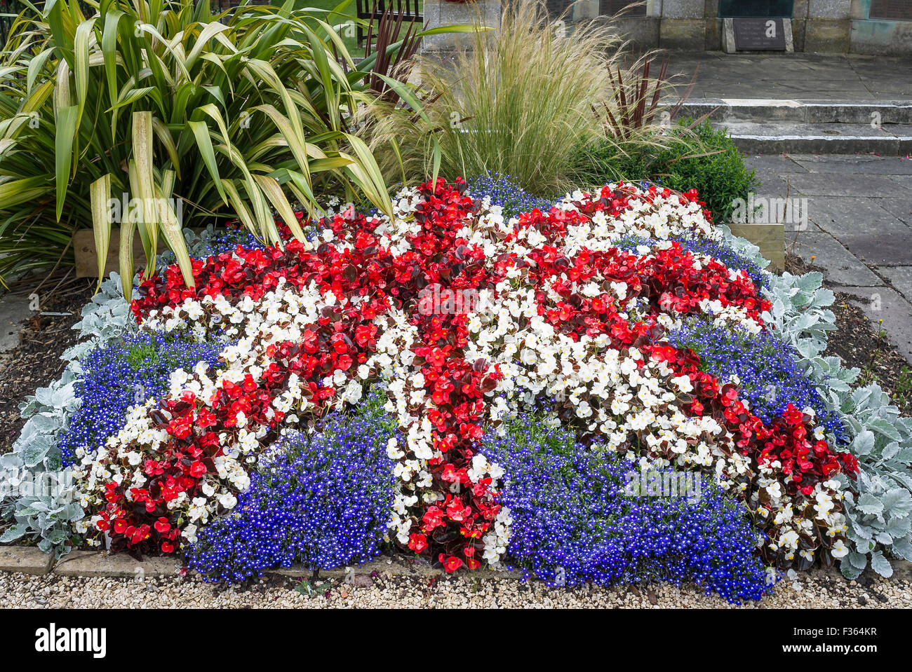 Red White Blue Flowers Flag High Resolution Stock Photography And Images Alamy