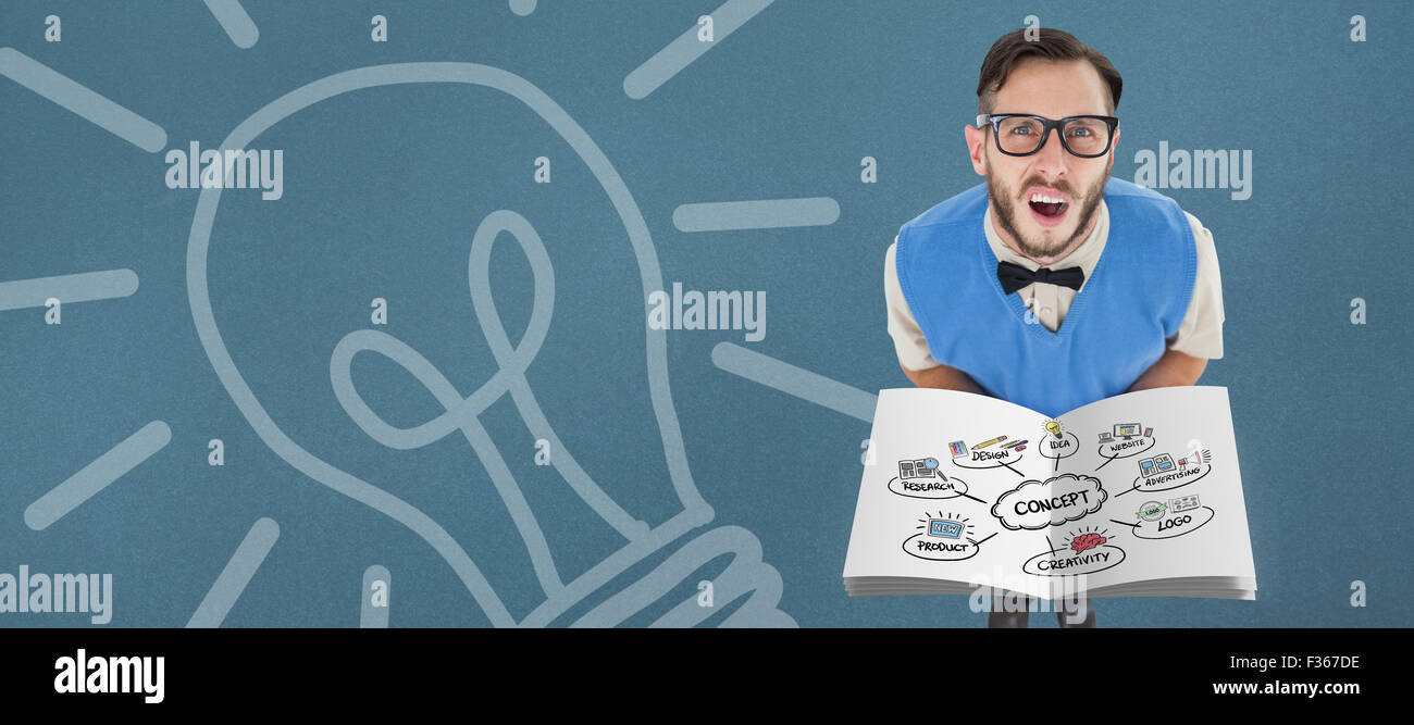 Composite image of concept flowchart Stock Photo