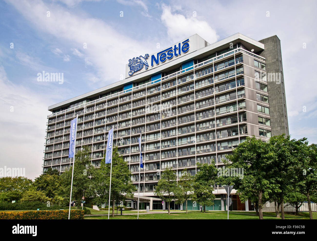 Nestle headquarter stock photos nestle headquarter stock images alamy - Kempinski head office geneva ...