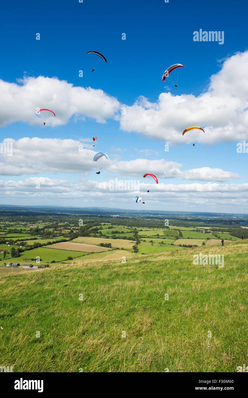 Paragliding Accident Stock Photos & Paragliding Accident