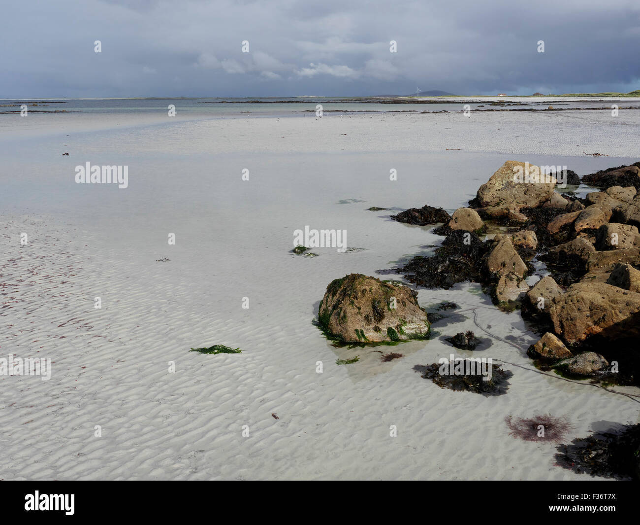 South Uist, Hebrides, September 2015 - Stock Image