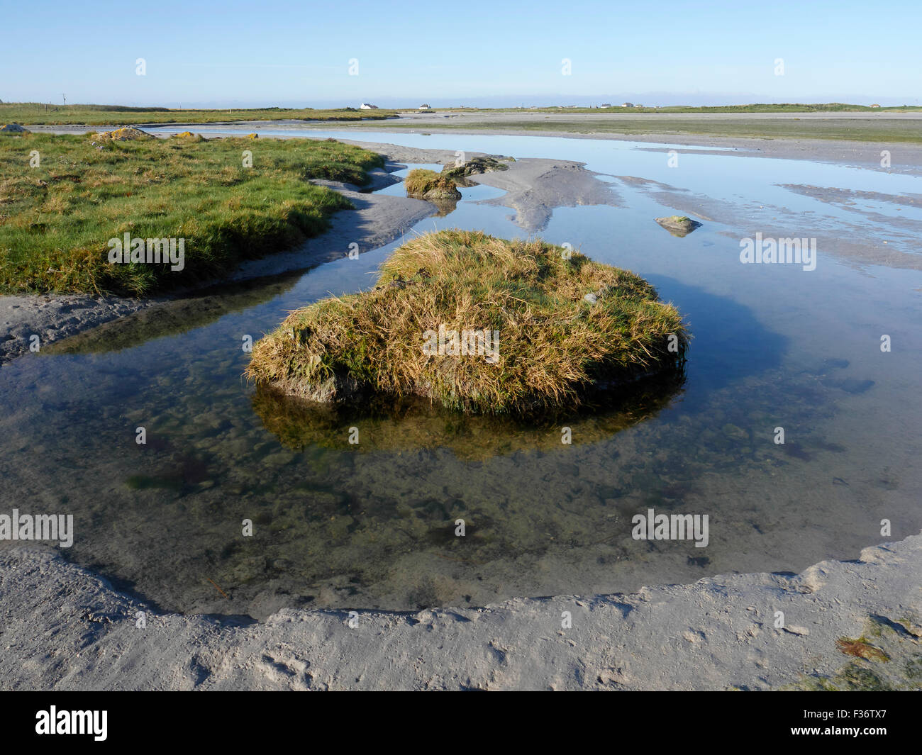 Bagh A Tuath, South Uist, Hebrides, September 2015 - Stock Image