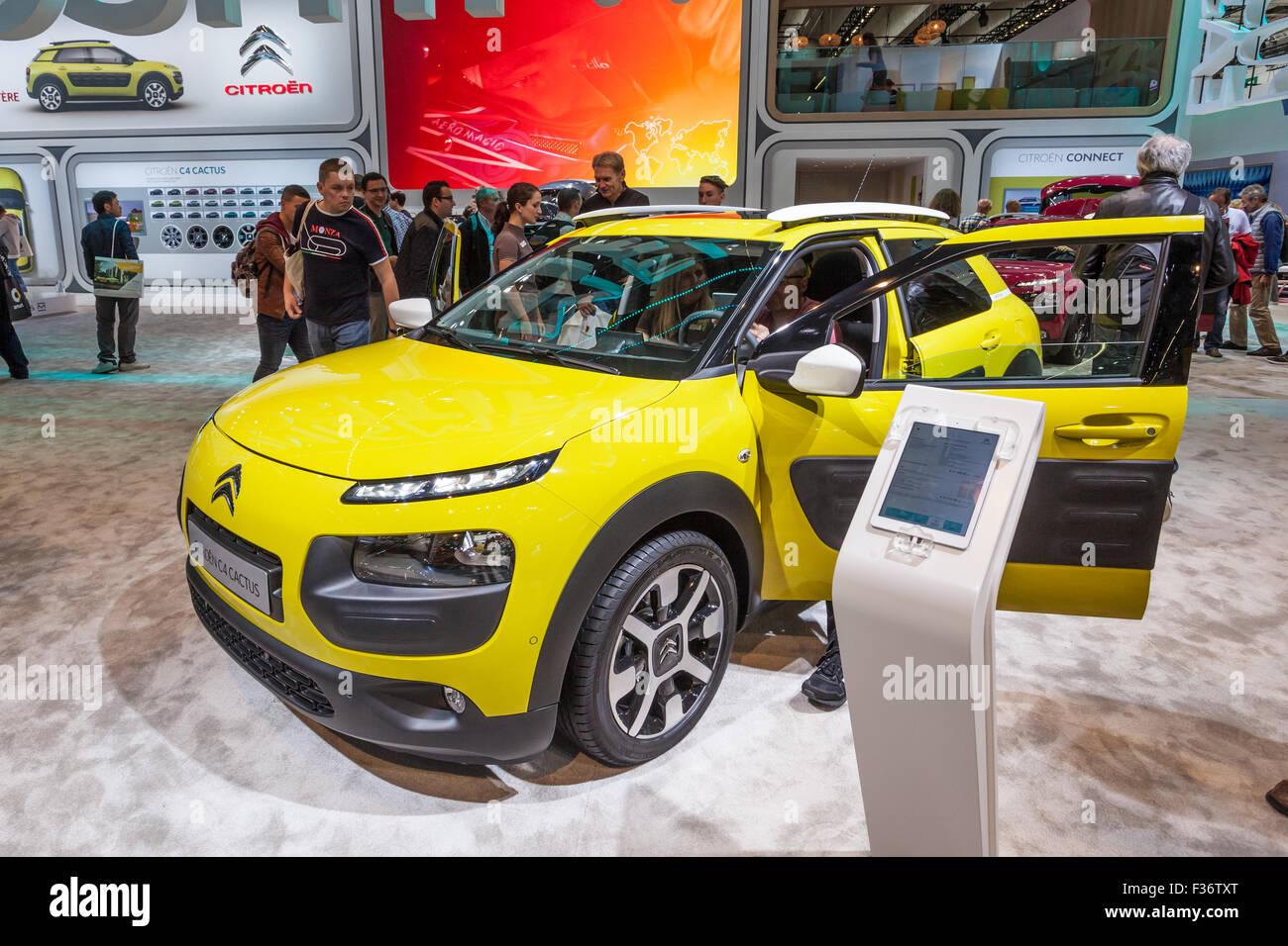 Citroen C4 Cactus Crossover at the IAA International Motor Show 2015 - Stock Image