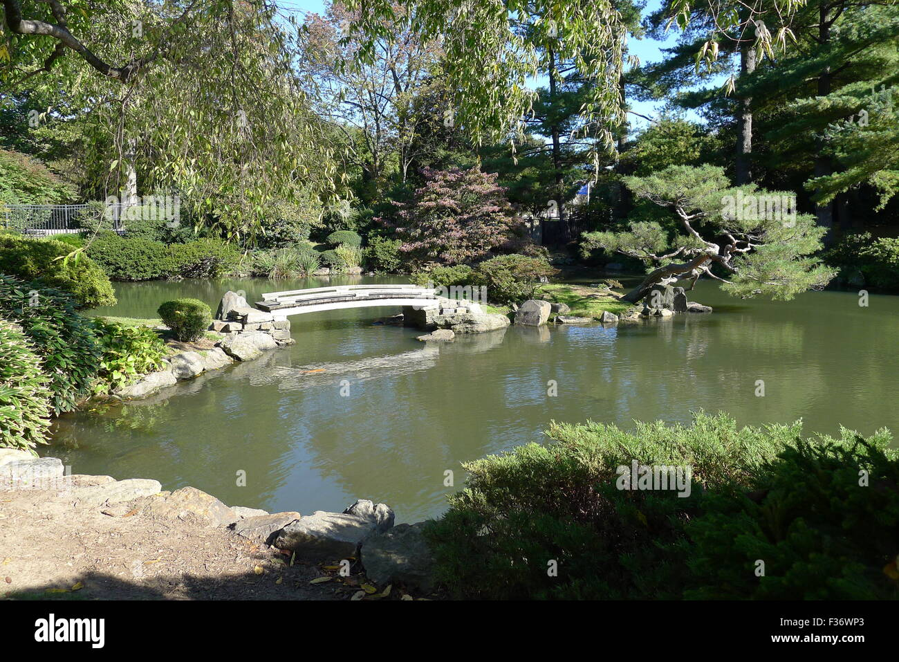 Japanese Garden At Fairmount Park Philadelphia Stock Photo 88047739 Alamy