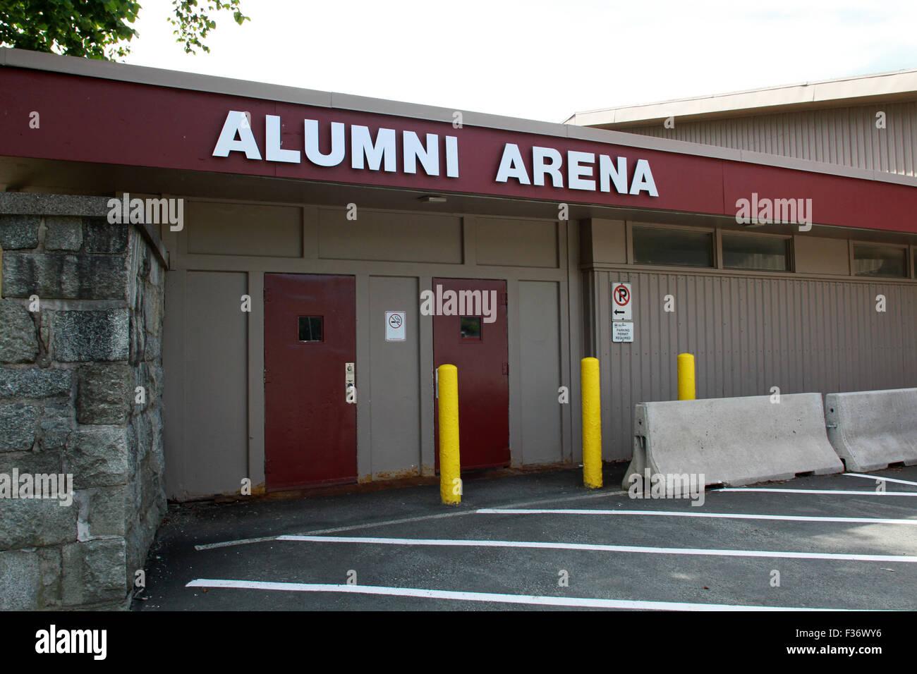 Alumni Arena at Saint Mary's University in Halifax, N.S. - Stock Image