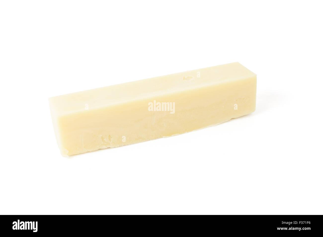 homemade soap bar made from natural materials - Stock Image