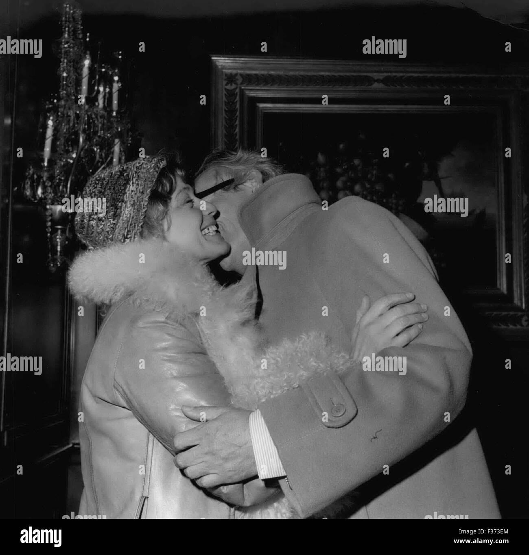 Dec  29, 1978 - Maria Schell & Werner Baecker (of German TV