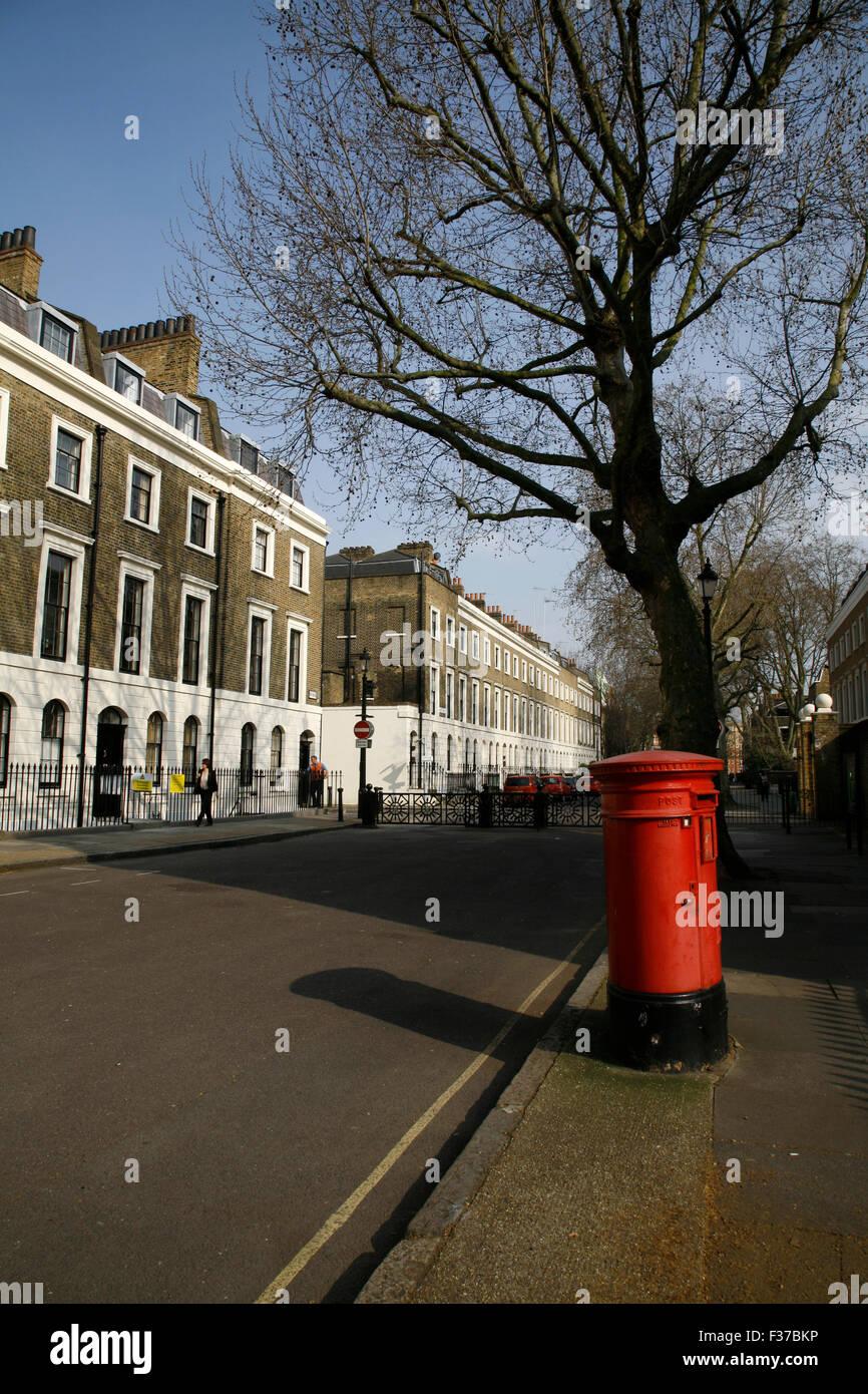 Trinity Street, The Borough, London, UK - Stock Image