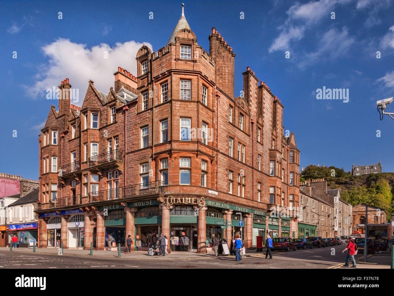 Chalmers Highland Tweed House, Oban, Argyll and Bute, Scotland, UK. - Stock Image