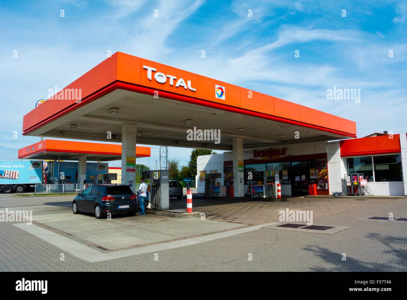 Petrol Prices In France >> Total, gas petrol filling service station, Meissen, Saxony ...