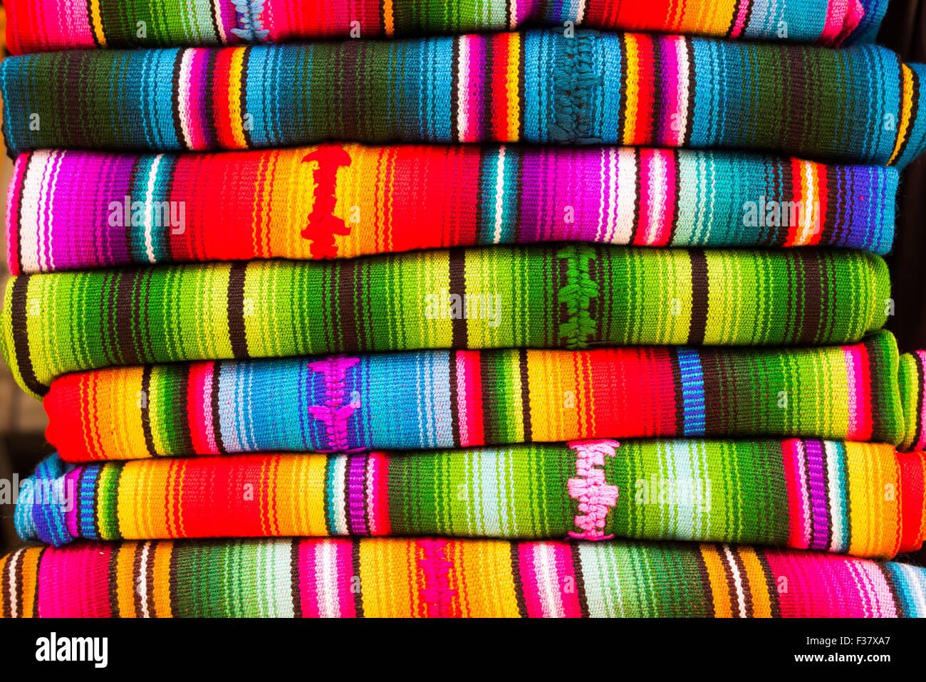 Weaving, Guatemala. - Stock Image