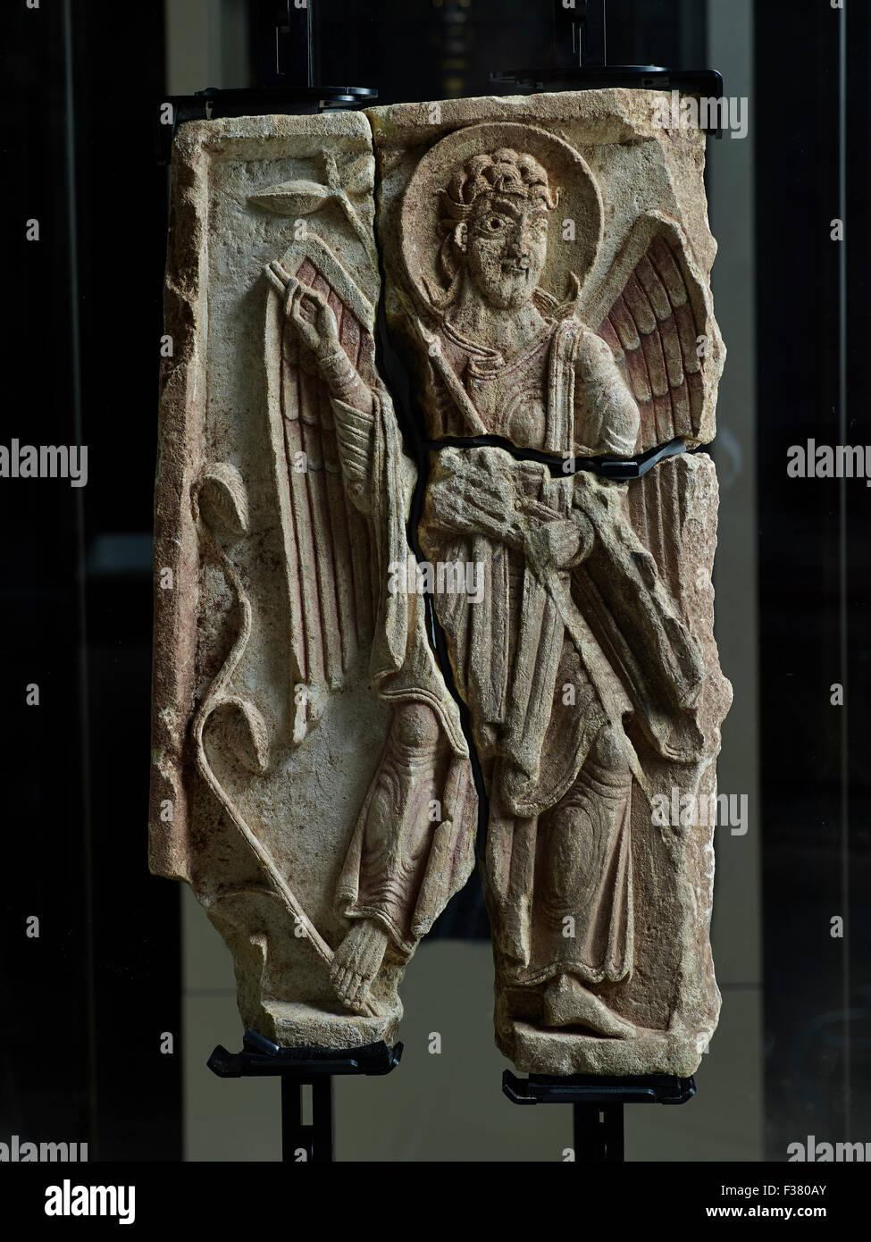Lichfield Cathedral, Archangel Gabriel, Lichfield Angel Stock Photo
