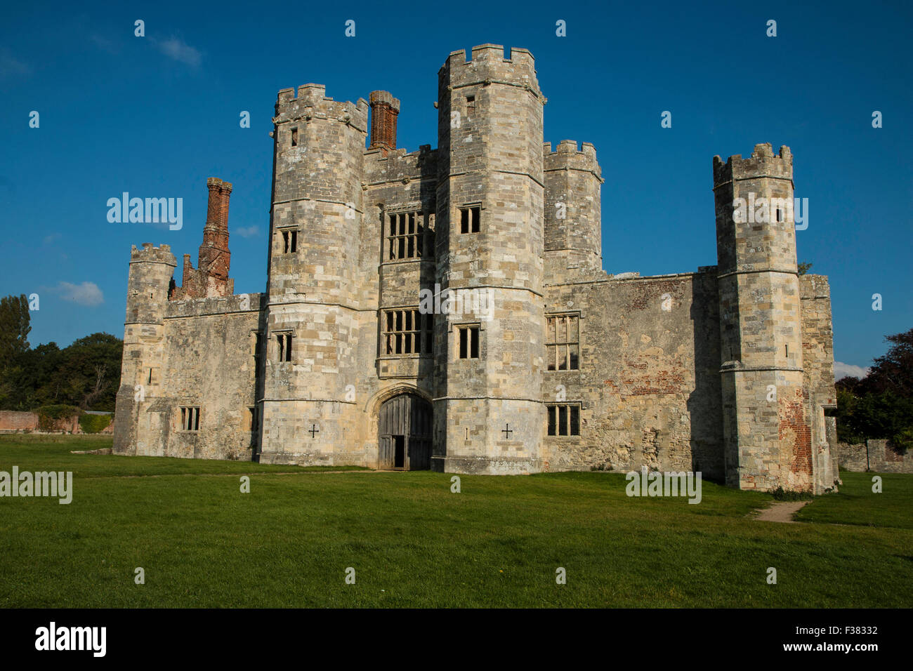 Titchfield Abbey, Titchfield, Hampshire, UK - Stock Image