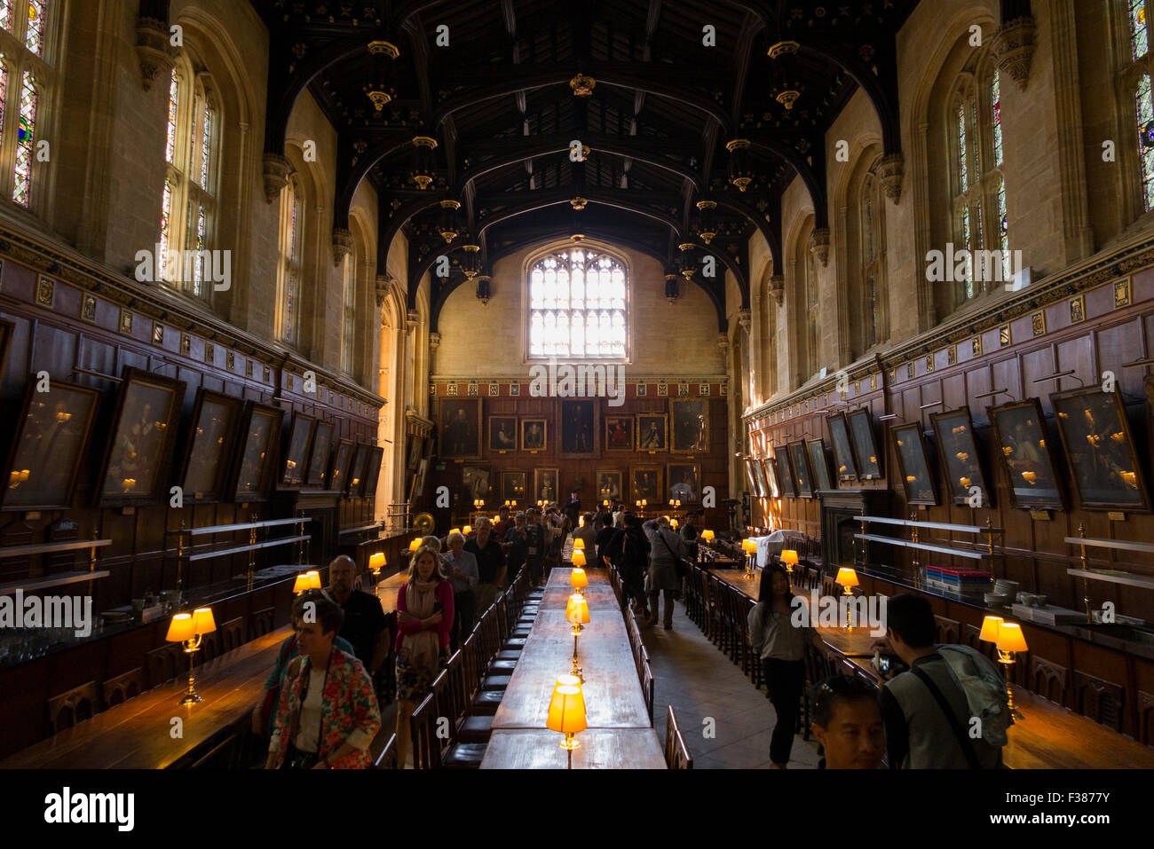 Inside Interior Of The Great Hall The Dining Hall
