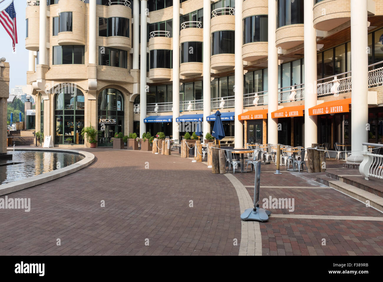 Restaurants And Bars On The Georgetown Waterfront In