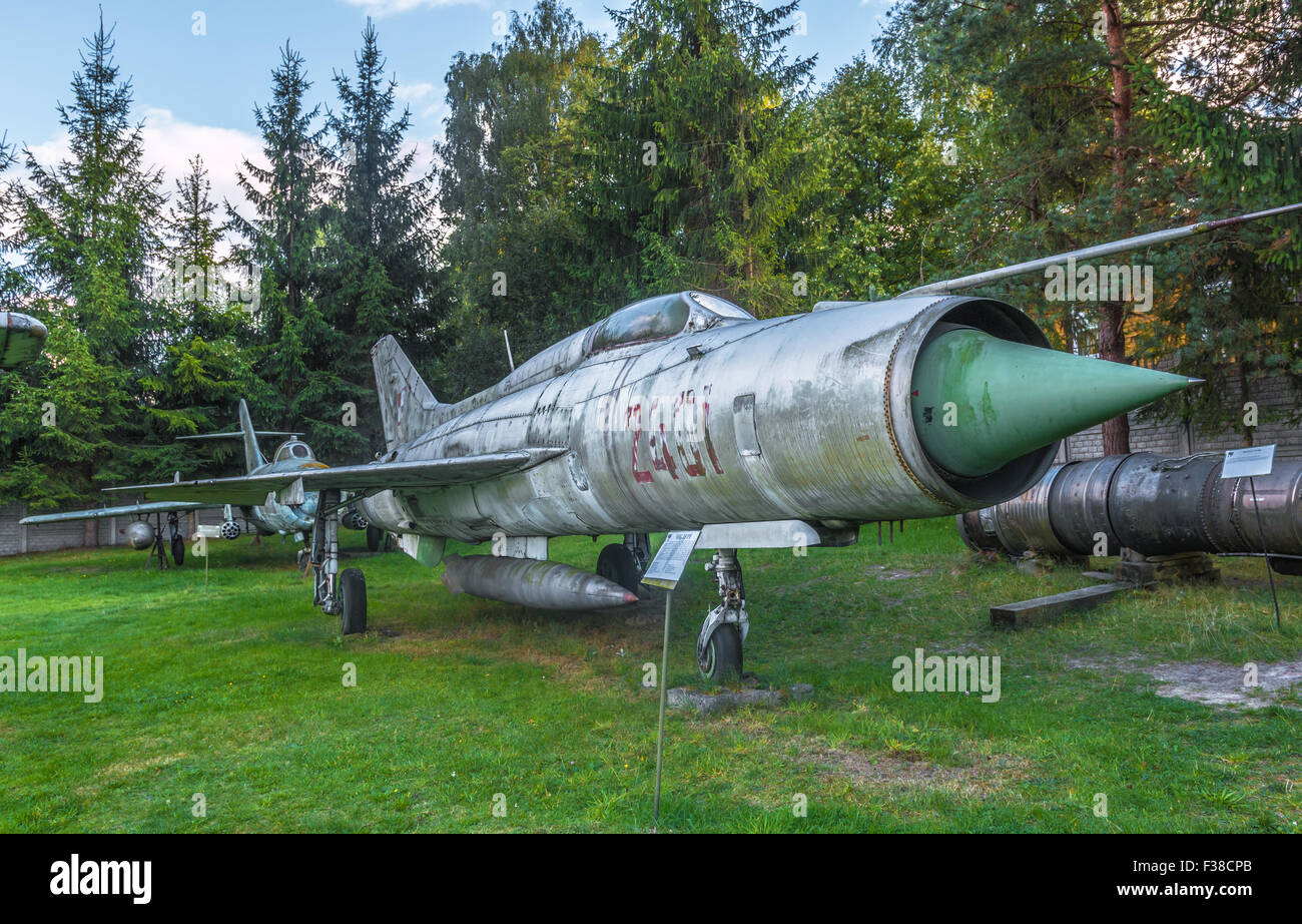 world war two museum - military airplane - Stock Image