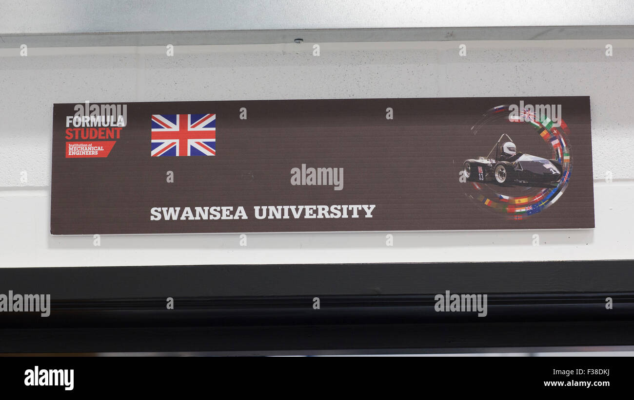 The new Bay Campus of Swansea University on Fabian Way, Swansea. - Stock Image