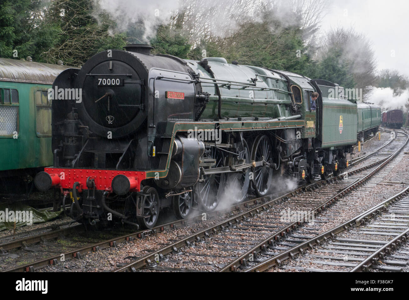 BR Standard Class 7 Steam Locomotive number 70000