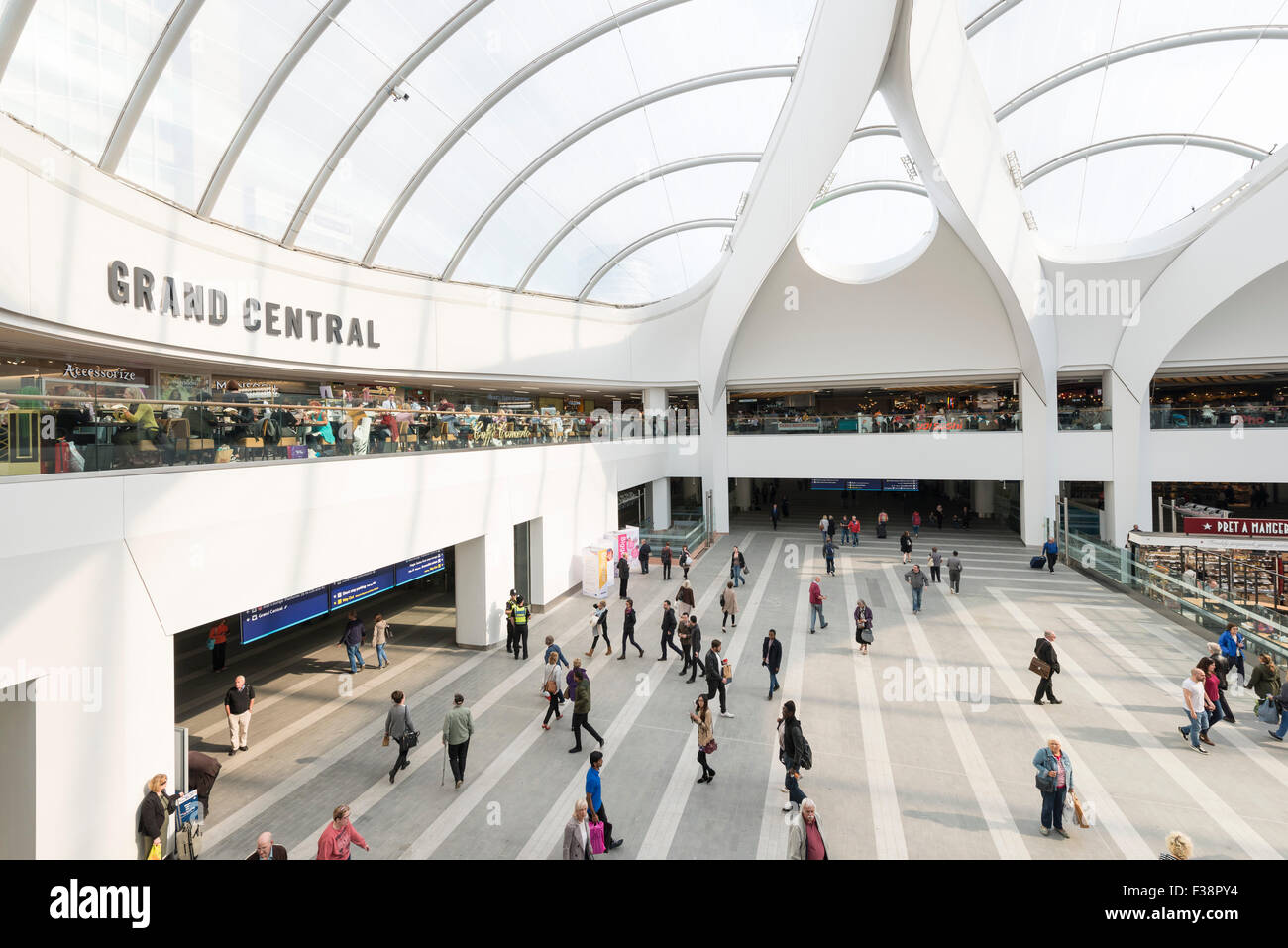 Grand Central at New Street Station, Birmingham - Stock Image