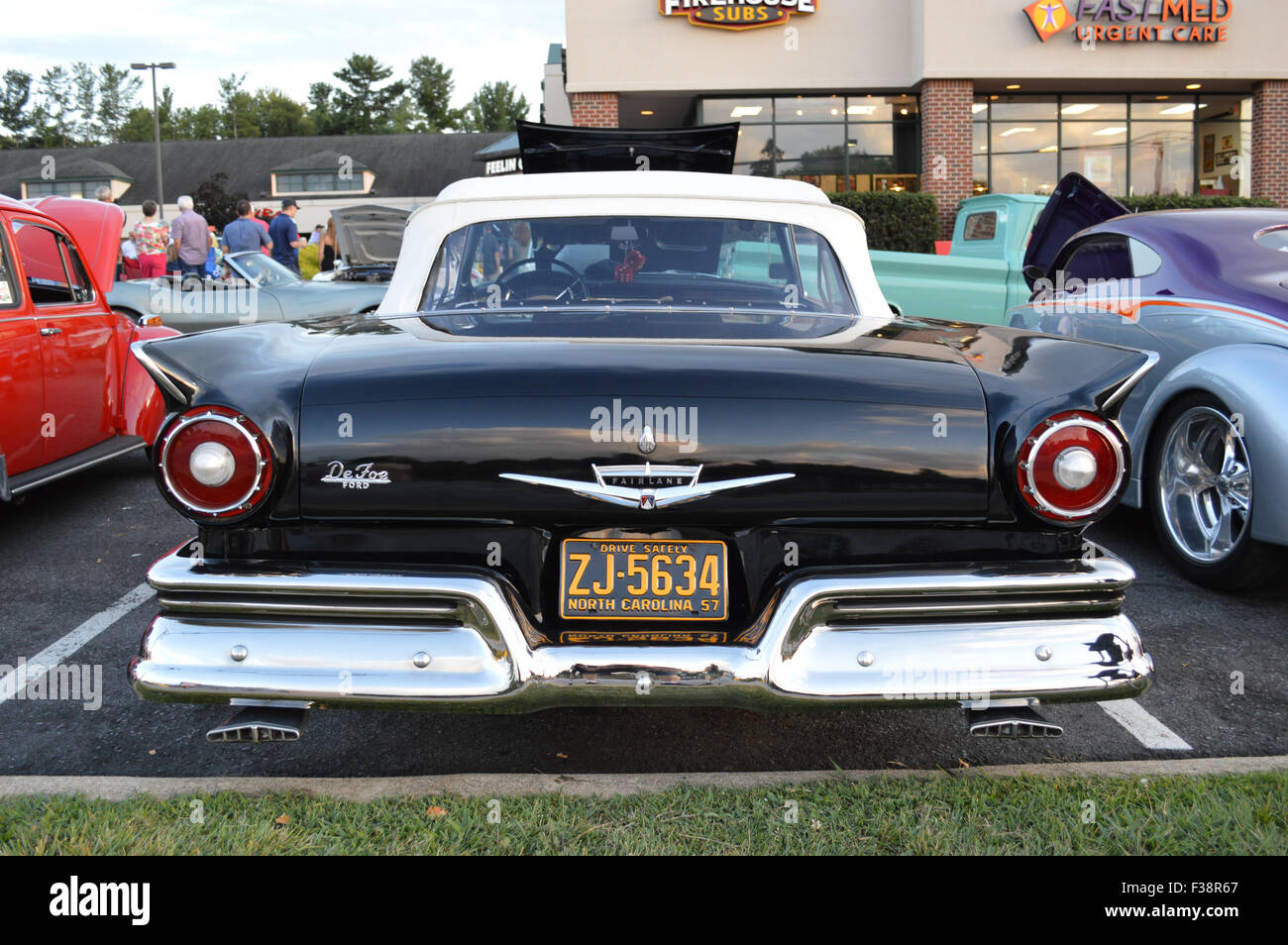 a 1957 ford fairlane 500 convertible stock photo 88089631 alamy