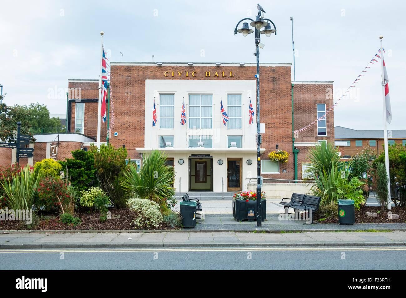 Civic Hall, Nantwich - Stock Image